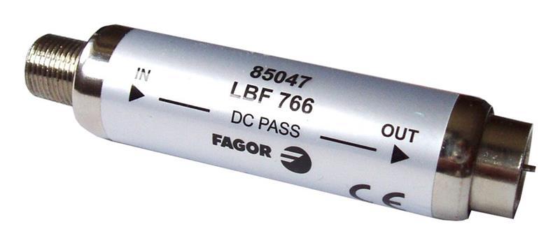 Fagor LBF-782, filtr 0-782 MHz, zádrž 45 dB