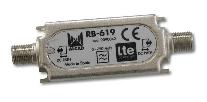 RB-619, filtr 0-790 MHz, zádrž 60 dB