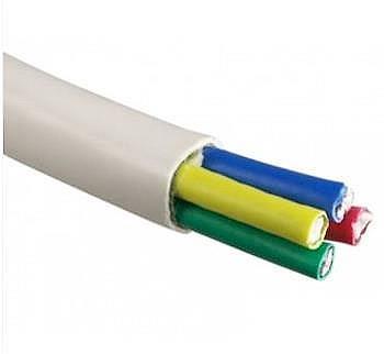 Koaxiální kabel čtyřnásobný, 4 v 1