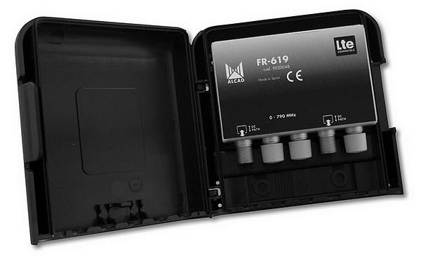 FR-619, filtr 0-790 MHz, zádrž 60 dB
