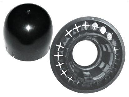 Krytka stožárové trubky o průměru 38 - 50 mm, Schwaiger