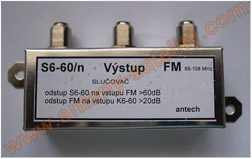 Slučovač Antech FM (VKV) + zbytek pásma