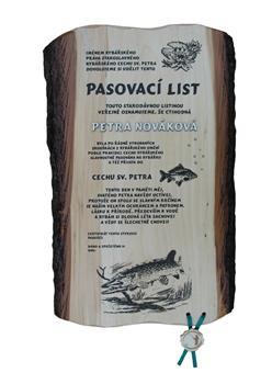 Rybářské gratulační listy