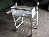 kovový stolek - zámečnictví Kladno