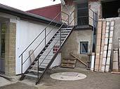 zámečnictví Kladno - kovové schodiště