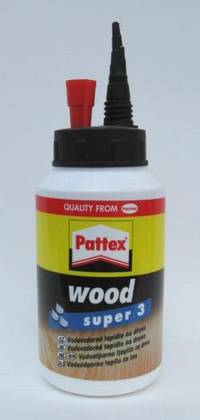 Lepidlo Pattex Wood Super 3