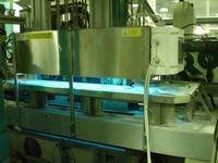 UV dezinfekce povrchu kelímků - FAEX Valašské Klobouky