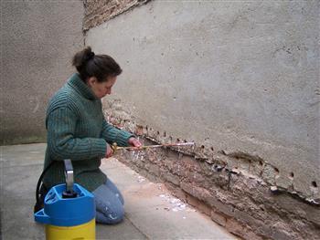 Izolace zdiva injektáží