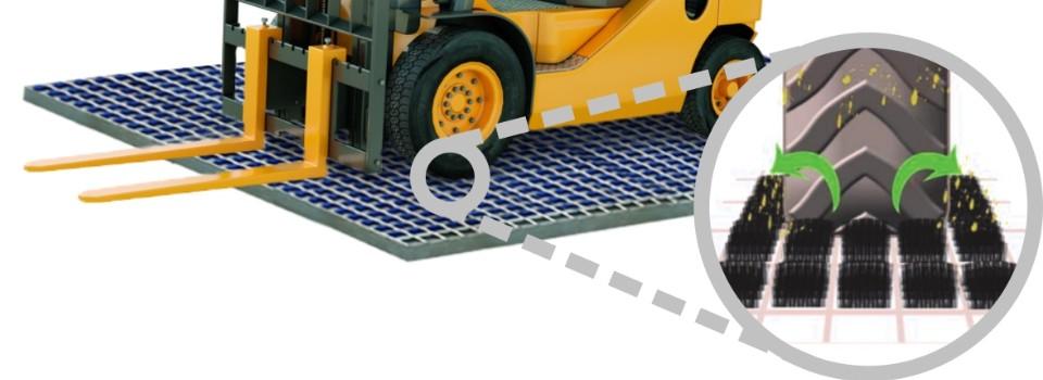 Profil systém pro čištění kol