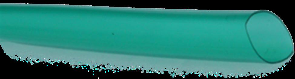 Bužírka transparentní průhledně zelená