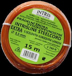 Prádelní šňůra s ocelovým lankem INTRISLINE EXTRA 3,5 mm