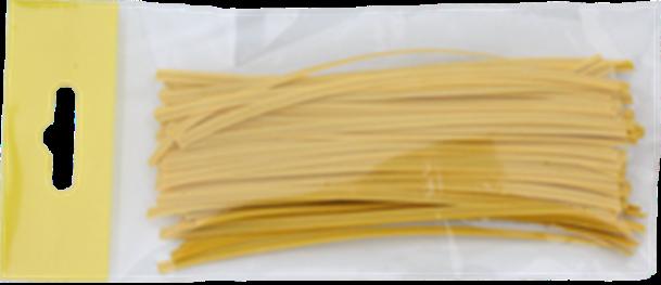 Vázací pásky plastové s drátkem INTRISTIE TECHNO dělené v sáčku