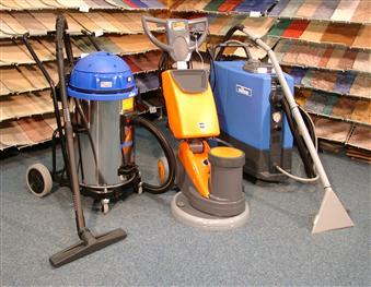Čistící stroje - kartáč, extraktor, vysavač
