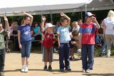 Den dětí u rozhledny 7.6.2009