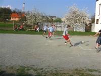 Velikonoční fotbal: ženáči - svobodní 2009