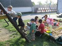 Dětské hřiště u obecního úřadu