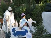 Představení Mrazík v zámeckém parku v Dukovanech