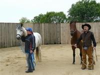 oslava dne dětí na koních