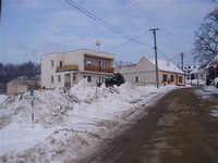 Odvoz sněhu z obce 2010