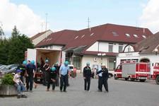 Ivančice - soutěž hasičů