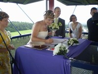 Svatba na rozhledně 4.7.2009