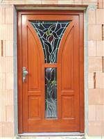 Vchodové dveře EURO s vitráží