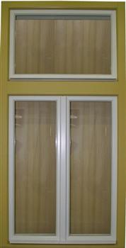 Špaletová okna prostá