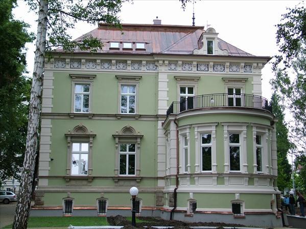 Vila z roku 1890.