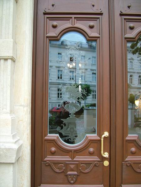 Vchodové dveře detail