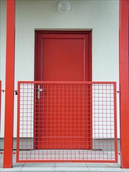 Vchodové dveře plné