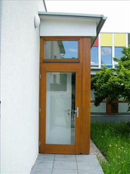 Vchodové dveře prosklené