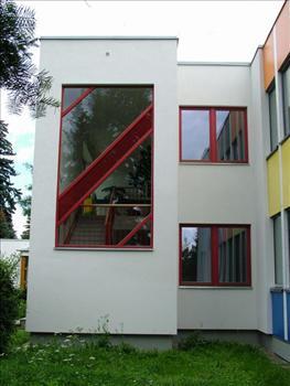 Okno pevně zasklené