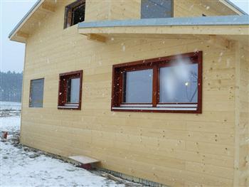 Dřevěná okna dvojkřídlá