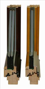 Eurookna IV88 a IV78 porovnání skla