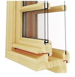 Špaletové okno s venkovním izolačním dvojsklem