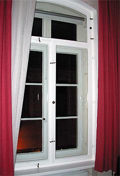 špaletová okna