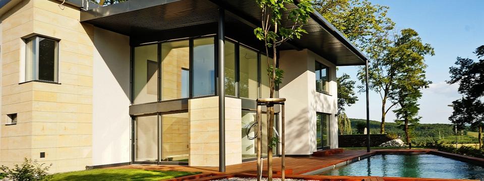 Zimní zahrady a prosklené fasády