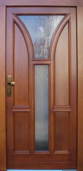 Moderní provedení vchodových dveří