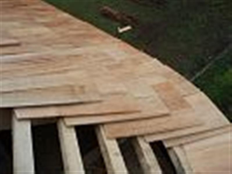Černá Hora - rekonstrukce střechy kostela