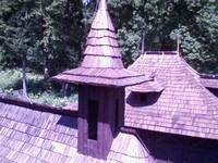 Střecha kosela ze šindelů