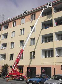 Ukázka práce s montážní plošinou