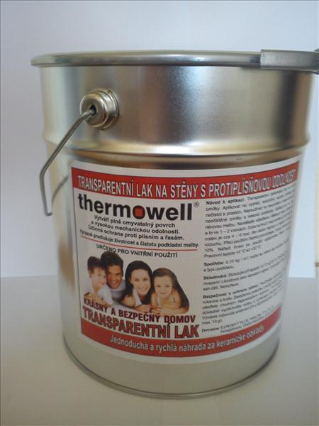 Transparentní lak THERMOWELL - 4 kg