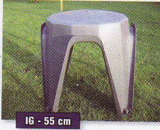 IGLU 50x50x65 cm konvexní