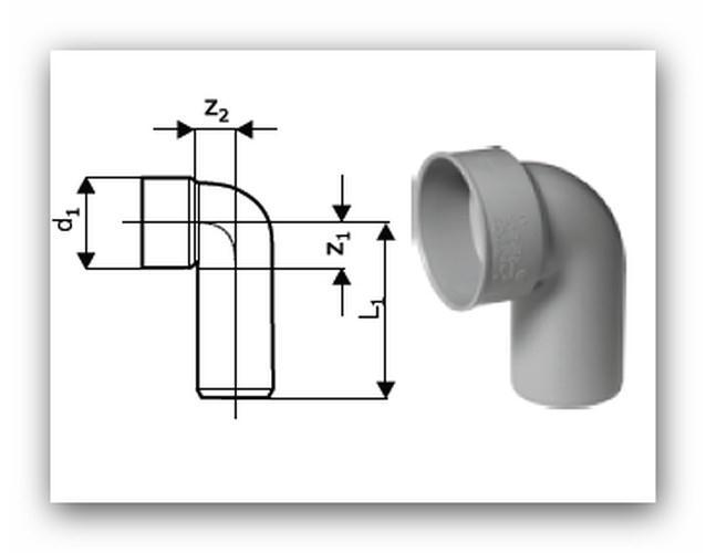 HTSW sifonové koleno | Vodo-plasttop s.r.o.