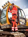 reflexní výstražné kalhoty do pasu T501 oranžové