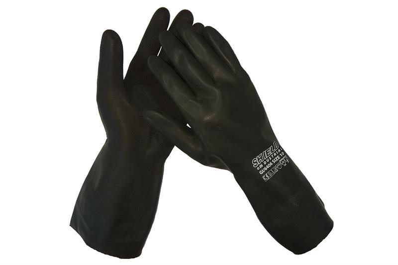 MSM GI/6406 SHIELD chemické rukavice latexové