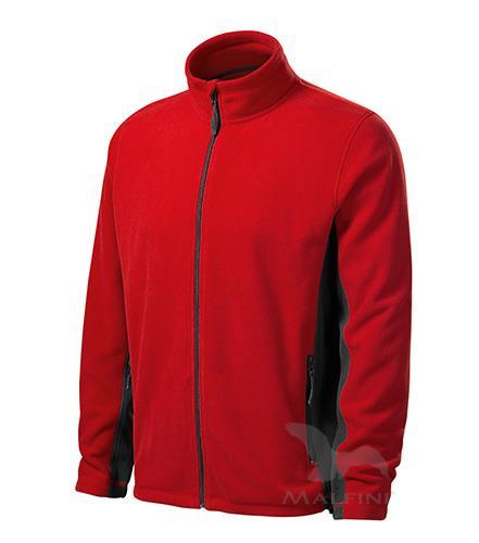 pánská fleece mikina 527 Frosty červená
