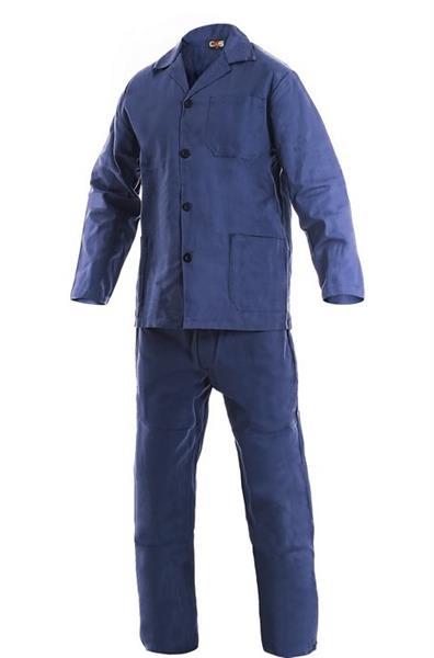 pracovní oděvy-montérková souprava Klasik, blůza + kal. do pasu, tm. modrá - dovoz