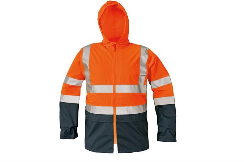 Reflexní výstražná bunda Eping oranžová, nepormokavá