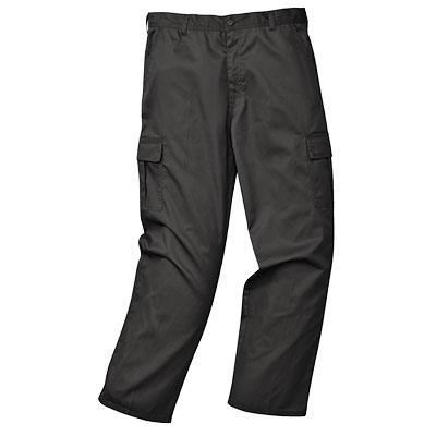 kalhoty kapsáčové černé C701
